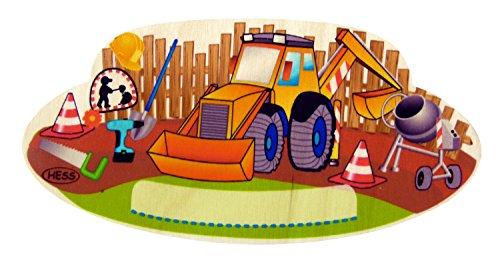 Hess Jouet en bois 30287 – Mobile chantier