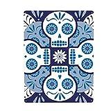 Cartel de metal con diseño de calavera mexicana española talavera para decoración de pared, para cafetería, bar, pub, interior/exterior hippie para colgar en la pared