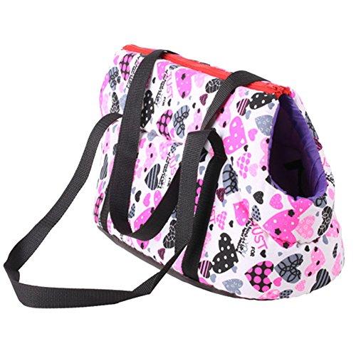Domybest angenehm warm Hund Katze Travel Carrier Handtasche Sollte Bag Pet für kleine mittelgroße Hunde Katzen