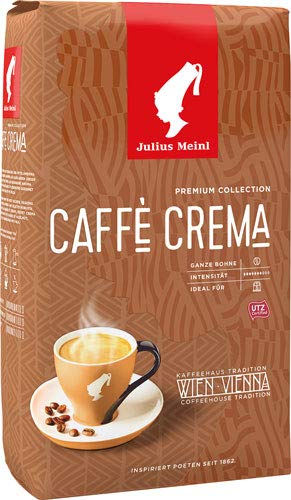 Julius Meinl Premium Collection Caffè Crema UTZ, Ganze Bohne - 3x 1 kg