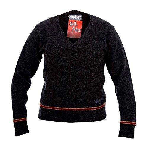 Harry Potter Gryffindor Sweater Hogwarts Uniform Pullover vom Filmausstatter made in Schottland 100% Lammwolle - M