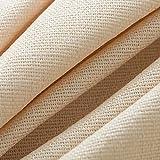 ZXC Mantel Cuadrado Cubierta Mantel De Mesa De Mesa Cuadrada PequeñA para Hogar Cocina Cena Navidad Comedor(Color:de Color Crema)(Size:100 * 160cm)