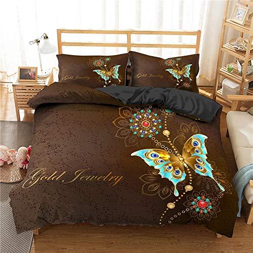 Juegos de ropa de cama, juegos de ropa de cama Mandala Juego de funda nórdica étnica con flores de Paisley Juego de funda nórdica con estampado y teñido, funda nórdica y funda nórdica, funda nórdica