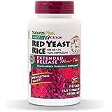 NaturesPlus Herbal Actives Red Yeast Rice, Extended Release 2 Pack - 600mg, 120 Mini Tablets - Herbal Supplement, Cholesterol Support - Vegan, Vegetarian, Gluten-Free - 120 Total Servings
