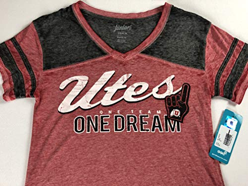 Purchase Utes Utah Shirt Juniors Medium 7/9 Fits Womens Small V-Neck Alumni One Team Dream