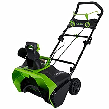 Greenworks 40V 20-Inch Cordless Brushless Snow Thrower Battery Not Included 2601102