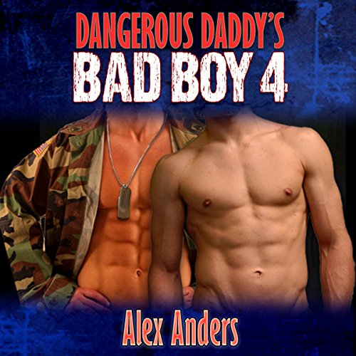 Dangerous Daddy's Bad Boy #4 audiobook cover art