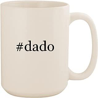 #dado - White Hashtag 15oz Ceramic Coffee Mug Cup