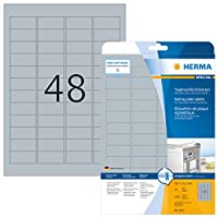 HERMA SPECIAL 9011 A4ネームバッジA4 90 x 54 mm白ダンボール非接着用250個入り。