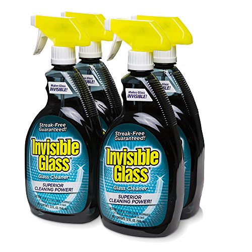 Invisible Glass 92194-4PK 32-Ounce Cleaner and Window Spray for Home and Auto for a Streak-Free...