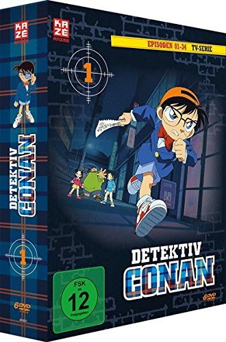 Detektiv Conan - TV-Serie - Vol.1 - [DVD]