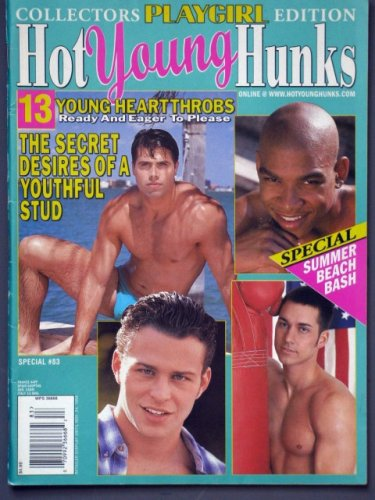Playgirl Magazine, issue dated November 1998 SPECIAL edition: Hot Young Hunks 83--13 Young Heart Throbs Eager to Please (they're NAKED and 'ready') rare issue!!