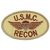 ミリタリーパッチ ワッペン US MARINE 海兵隊 RECON ロゴ