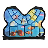 KUIDAMOS Protector de Cadera para Esquiar Almohadilla de protección de Cadera para niños de 0,79 Pulgadas de Grosor para Proteger el coxis y el isquio Ligero y Suave(Blue)