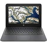 HP Chromebook 11.6' WLED Display, Intel Celeron N3350 up to 2.40 GHz, 4GB RAM, 32GB eMMC w/ 128GB Mytrix SD Card, USB-C, WiFi, Bluetooth, Webcam, Chrome OS