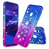 COTDINFOR Huawei Honor 10 lite Liquid Case Gradient Color