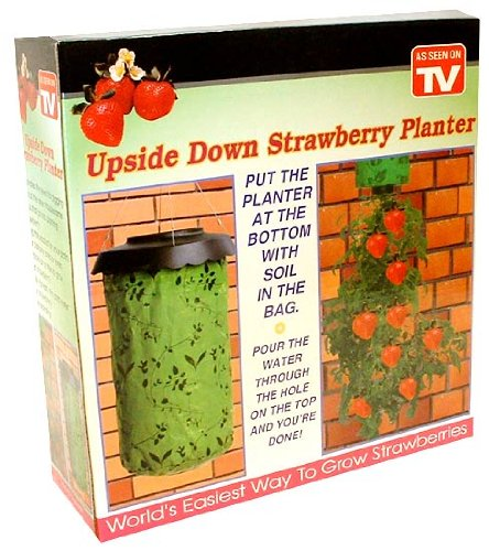 Upside Down Hanging Strawberry & Tomato Garden Planter