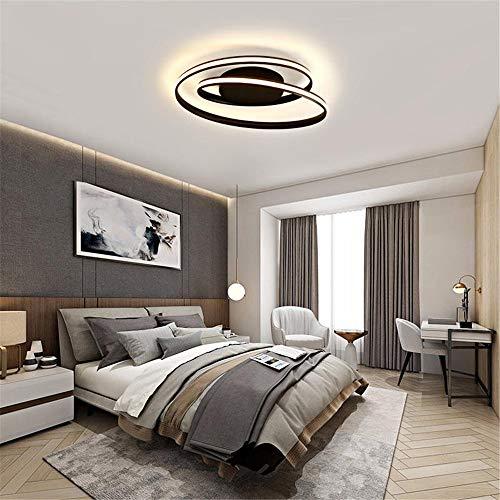 Yzibei moderne schijnwerper voor buiten, 40 W LED-plafondlamp-lamp-verlichting, hanglamp, fixture met afstandsbediening