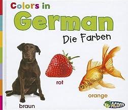 Colors in German: Die Farben (World Languages - Colors) (German Edition)