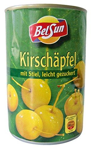 Belsun - Kirschäpfel mit Stiel, leicht gezuckert - 425g