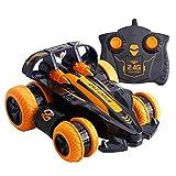 CMXUHUI El juguete favorito del bebé es un buen regalo para el coche Chi 4WD 2.4GHz Stunt Drift Deformation Buggy Car Rock Crawler Roll Coche 360 grados Flip Kids Control remoto Juguetes de coche