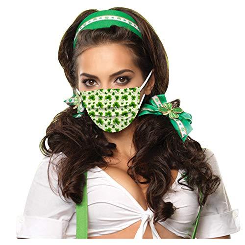 WZLL De_Mask_Máscara de Color de Capa Desechable, Paño de Algodón con Cepillo, Adecuado para Cenas al Aire Libre, Bufanda Elástica Cómoda Universal Transpirable