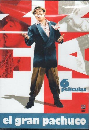 GERMAN VALDEZ TIN - TAN 'EL GRAN PACHUCO' 6 PELICULAS (DIOS LOS CRIA / ME TRAES DE UN ALA / LAS LOCURAS DE TINTAN / EL HIJO DESOBEDIENTE / VIVIR DEL CUENTO / EL DUENDE Y YO).