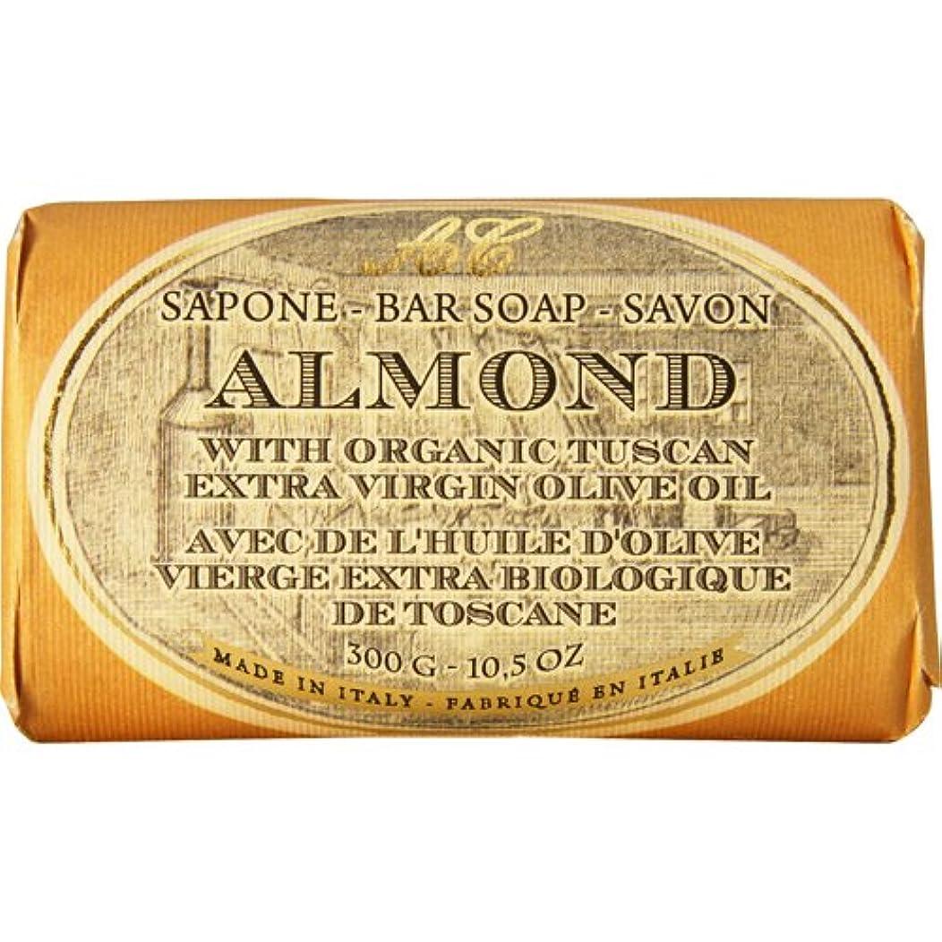 ディレイ通路パートナーSaponerire Fissi レトロシリーズ Bar Soap バーソープ 300g Almond アーモンドオイル