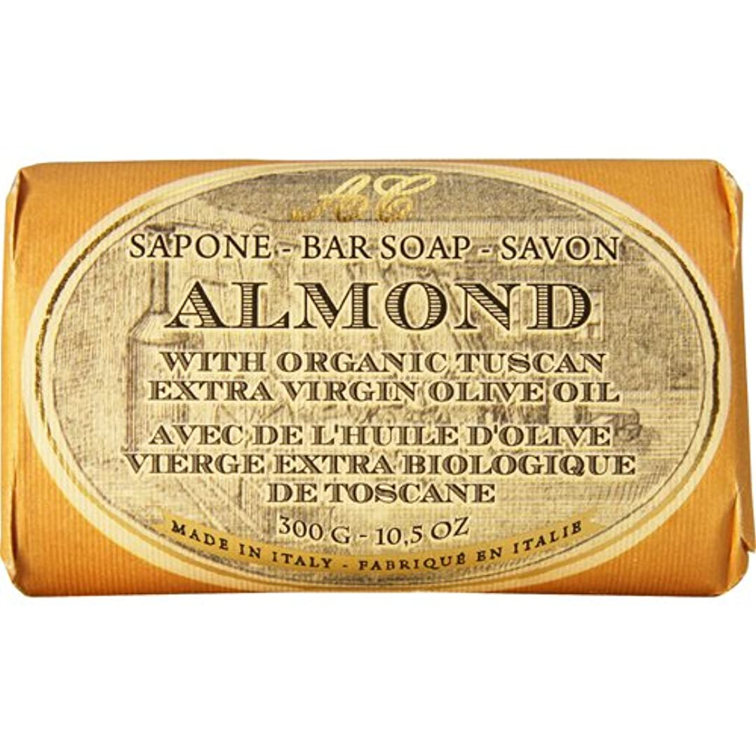牛肉闘争からかうSaponerire Fissi レトロシリーズ Bar Soap バーソープ 300g Almond アーモンドオイル