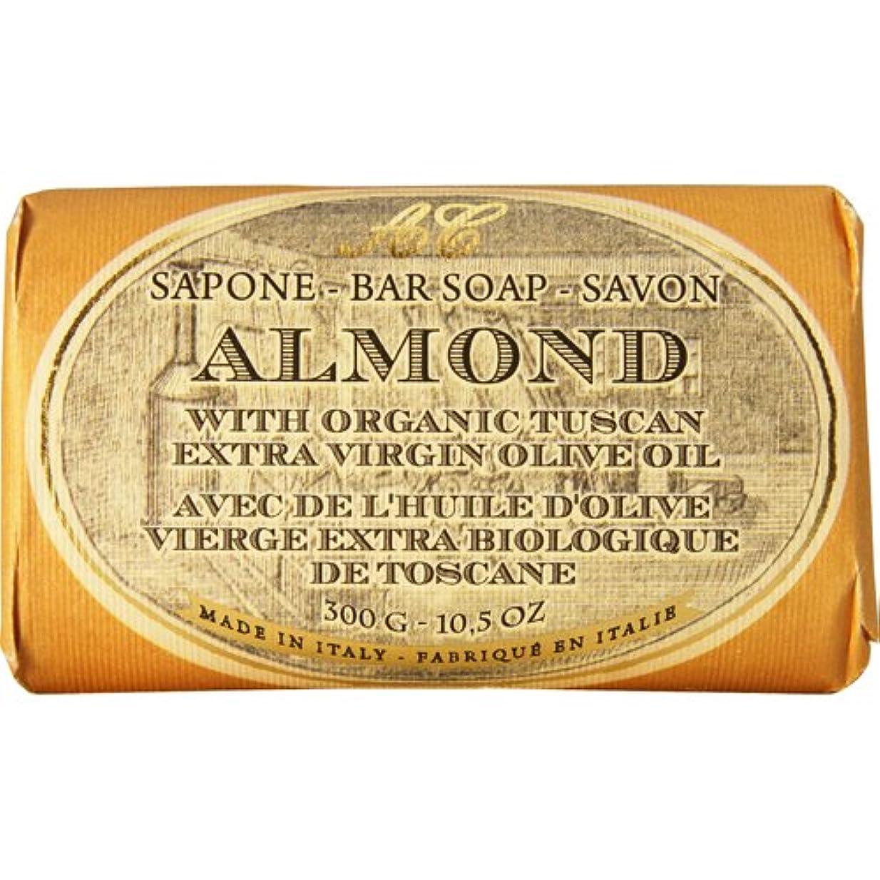 些細速記取り扱いSaponerire Fissi レトロシリーズ Bar Soap バーソープ 300g Almond アーモンドオイル