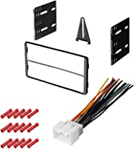 CACHÉ KIT1004 Bundle with Complete Car Stereo Installation Kit Compatible with 2000-2005 Ford Excursion - in Dash Mounting Kit, Harness for Double Din Radio Receivers (3 Item)