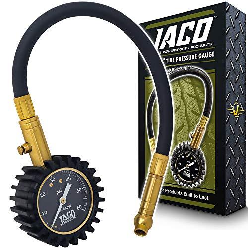 Jaco Elitepro Tire Pressure Gauge - Manual Dial Gauge