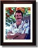 Framed Tom Selleck Autograph Replica Print - Magnum