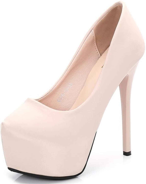 Cloudless Women's Platform Party Dress Classic High Heel Stiletto Pump shoes