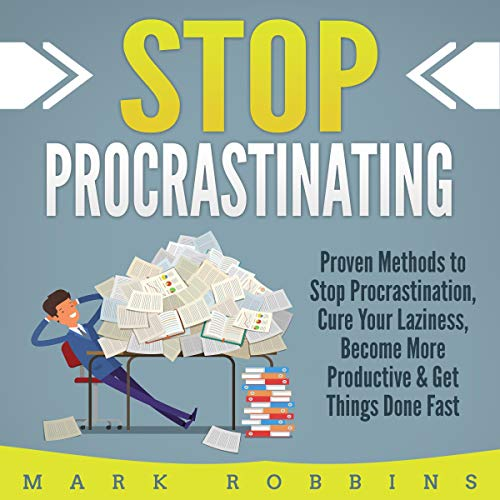 Stop Procrastinating audiobook cover art