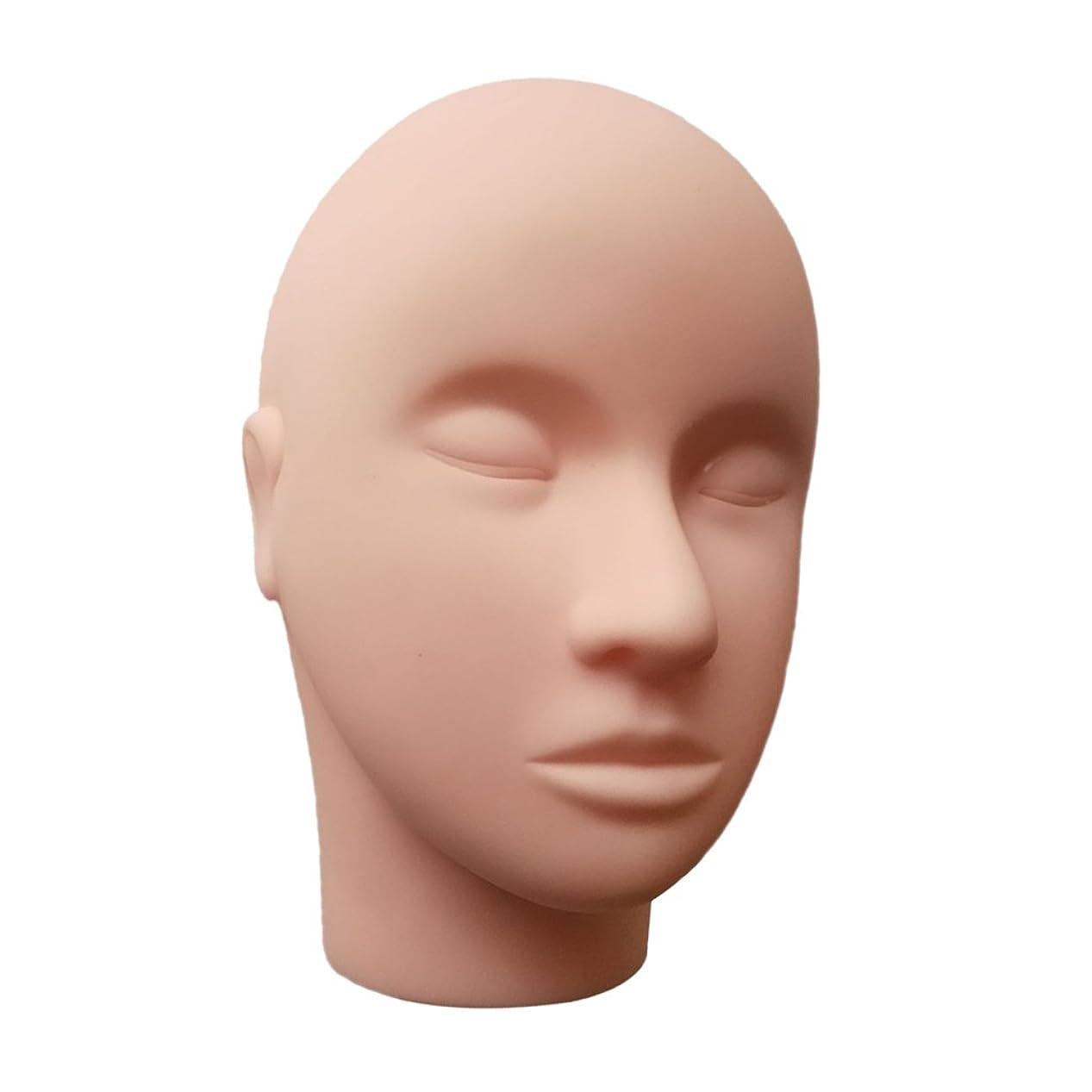 大胆な盲信覗くT TOOYFUL シリコーン練習マネキンマネキンヘッドまつげメイクマッサージプラクティス
