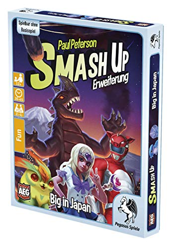 Pegasus Spiele 17274G - Smash Up 12 Big in Japan