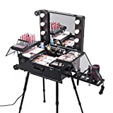 Anaelle Pandamoto Mallette Maquillage Trolley Beauty Case Voyage Valise Studio...