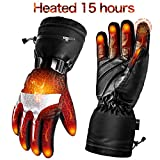 Best Heated Gloves - Battery Heated Gloves for Men Women,Rechargeable Electric Gloves Review
