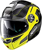 X-Lite X-1004 Ultra Carisma Carbon LED Yellow Chin Guard S