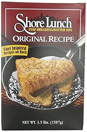 Shore Lunch Fish Breading / Batter Mix, Original Recipe, 3.5-pounds