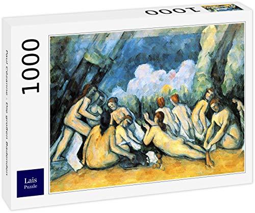 Lais Puzzle Paul Cézanne - I Grandi bagnanti 1000 Pezzi