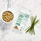 BRAVE ROASTED PEAS (12X35GRS) SOUR CREAM & CHIVE