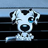 Cute Puppy Dog Auto Outlet Perfume Auto Decoración Ambientador Auto Ornament Aire Acondicionado Outlet Clip Solide Aroma