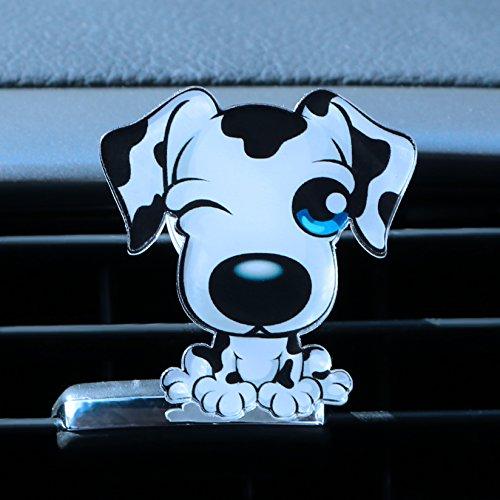 Itimo de sortie de voiture Parfum Désodorisant Chiot automobiles de voiture Ornement solide Parfum Air Conditioner Outlet Clip Auto Décor (style2)