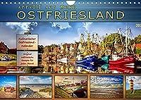 Ostfriesland - Appetit auf mehr (Wandkalender 2022 DIN A4 quer): Eine kulinarischer Wandkalender mit original ostfriesischen Rezepten (Monatskalender, 14 Seiten )