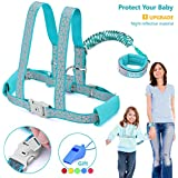 Toddler Leash & Harness for Sa...