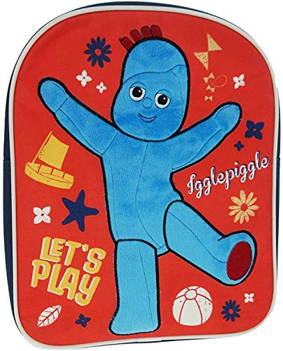 In The Night Garden Novelty Children's Backpack, 31 cm, 8 L, Red