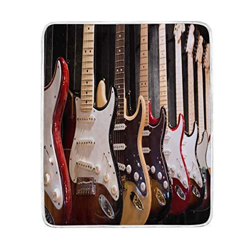 Ahomy - Manta Suave y cálida para Guitarra eléctrica, tamaño de Viaje,...