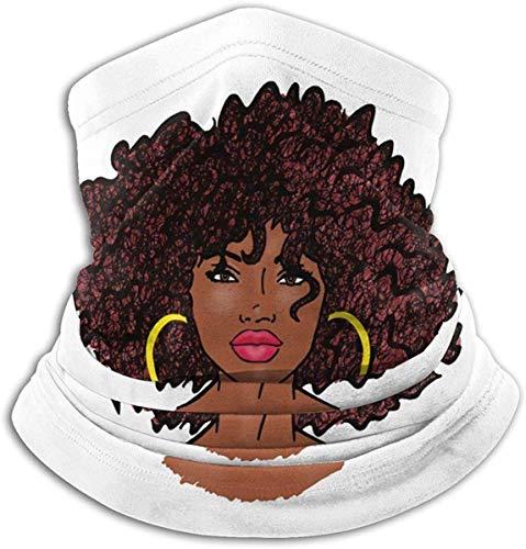 asdew987 africano tipo di capelli donne africane multifunzionale maschera del viso bandana collo ghetta per sport passamontagna